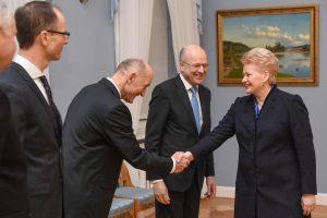 D. Grybauskaitė pabrėžia ES Teisingumo Teismo svarbą