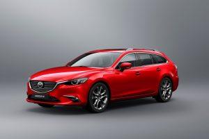 """Nauja """"Mazda6"""" pasirodys ir sedano, ir universalo kėbulu"""