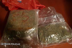 Vilniaus kriminalistai sulaikė 11 kg narkotikų krovinį iš Ispanijos