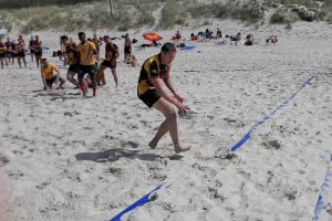 Smiltynėje vyko Lietuvos paplūdimio regbio čempionatas