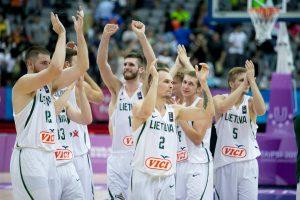 Lietuvos studentų krepšinio rinktinė – universiados pusfinalyje