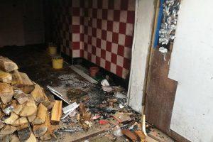 Klaipėdoje gaisras kilo gyvenamajame name