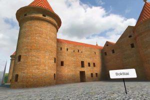 Pirmiausia Klaipėdos pilį atstatys virtualioje erdvėje