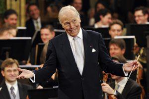 Mirė garsiojo Vienos orkestro dirigentas G. Pretre'as