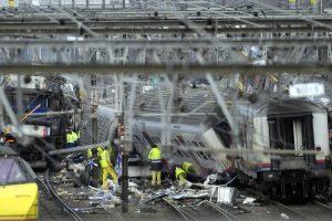 Netoli Briuselio nuo bėgių nulėkė traukinys (1 žmogus žuvo, 27 sužeisti)