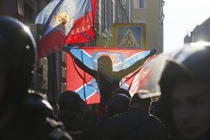 Maskvoje – tūkstantinė demonstracija prieš Kremliaus vaidmenį Ukrainoje
