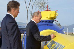 "Europa savo noru lenda į ""Gazprom"" kilpą"