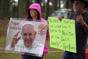 Džordžija įvykdė mirties bausmę moteriai, kurios pasigailėti prašė popiežius