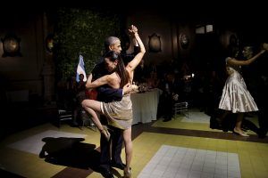 Argentinoje viešintis B. Obama sušoko tango