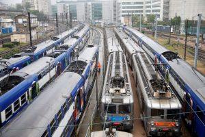 Prancūzijos geležinkelininkai skelbia neterminuotą streiką