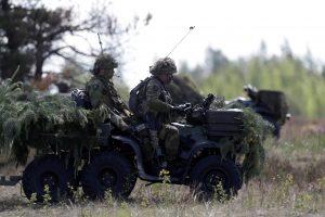 Norvegijos kariuomenės vadas lanko Lietuvoje tarnaujančius karius