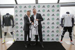 """""""Adidas"""" pratęsė sutartį su Vokietijos futbolo rinktine"""