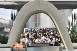 Japonija mini prieš 71-erius sunaikintos Hirošimos tragediją