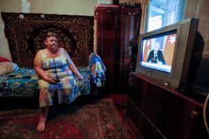 Pastangos laimėti Rusijos užgrobtą TV žiūrovą