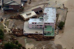 Japonijoje taifūno nuniokotuose senelių namuose – devyni žuvusieji