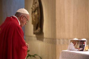 Popiežius: žudyti Dievo vardu – šėtoniška