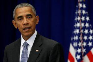 Po išpuolių B. Obama paragino amerikiečius nepasiduoti baimei
