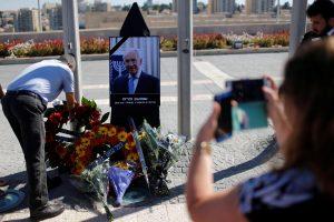 Izraelis į paskutinė kelionę palydi buvusį prezidentą