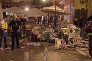 URM neturi duomenų, kad per sprogimą Ispanijoje būtų nukentėję lietuviai