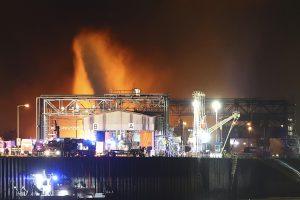 Per sprogimą Vokietijos fabrike žuvo mažiausiai du žmonės, du dingo