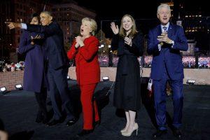 Obamos paprašė išrinkti H. Clinton JAV vadove