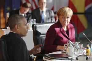 Europos lyderiai ir B. Obama tęs bendradarbiavimą tarp NATO narių