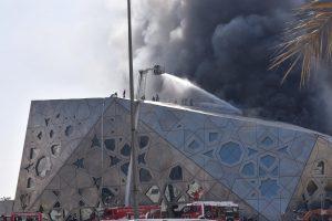 Įspūdingus Kuveito operos rūmus nuniokojo gaisras