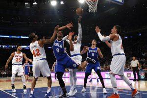 """NBA: """"New York Knicks"""" pergalę išplėšė paskutinę sekundę"""