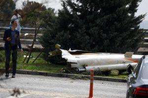 Stambule sraigtasparnis rėžėsi į bokštą: žuvo mažiausiai penki žmonės