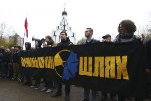 Minske per Černobylio katastrofos metines vyko eitynės prieš Astravo AE