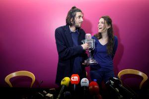 """Portugalija švenčia savo pirmąją pergalę """"Eurovizijoje"""""""