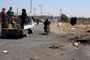 Damaske susisprogdino mirtininkas, yra žuvusiųjų