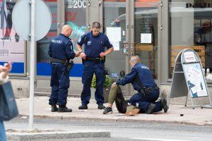 Išpuolio Suomijoje vykdytojas galėjo būti radikalizuotas