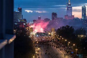 Lenkijos nepriklausomybės dieną – šimtatūkstantinės eitynės