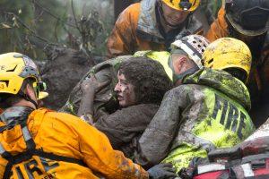 Kalifornijoje purvo nuošliaužos nusinešė mažiausiai 13 gyvybių