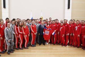 V. Putinas: Rusijos sportininkų pašalinimas iš olimpiados yra keistas