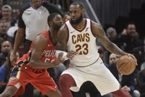 L. Jamesas pagerino M. Jordanui priklausiusį NBA rekordą