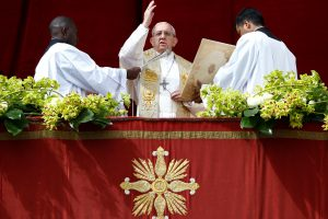 Popiežius Pranciškus: meldžiame taikos vaisių visame pasaulyje