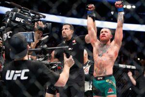 Kruvina pergalė: C. McGregoras atsirevanšavo N. Diazui