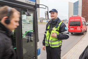 Vilniaus keleivių kontrolieriai segės vaizdo kameras