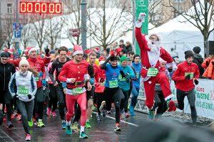Sostinėje – rekordinis skaičius bėgikų