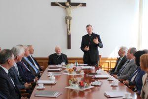 Telšių vyskupijos kurijoje – 14 savivaldybių vadovų susitikimas