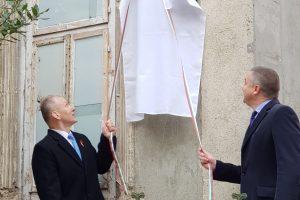 J. Basanavičiaus namuose Bulgarijoje atidengta atminimo lenta