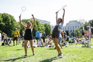 """Savaitgalį linksmintis kvies badmintono mėgėjų turnyras """"Vilniaus plunksna"""""""
