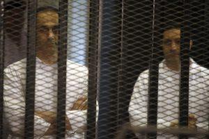Egipto teismas nurodė paleisti buvusio diktatoriaus sūnus