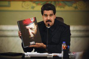 Venesuelos prezidentas: velionis lyderis H. Chavezas yra laimingas