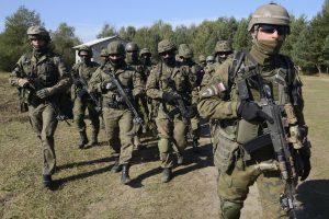 Lenkijoje prasidėjo didelio masto tarptautinės karinės pratybos