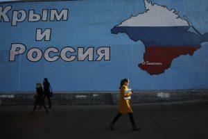 Lietuvos iniciatyva paskelbtos sankcijos Kryme išrinktiems Rusijos deputatams