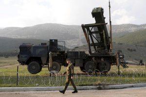 """JAV spalį išgabens iš Turkijos raketas """"Patriot"""""""