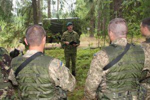 Ukrainos instruktoriams Lietuvoje – kariniai kursai